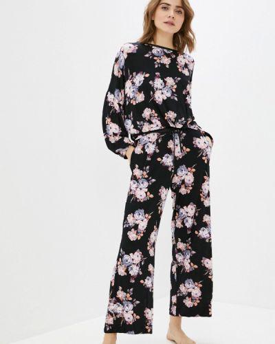 Пижамная черная пижама Marks & Spencer