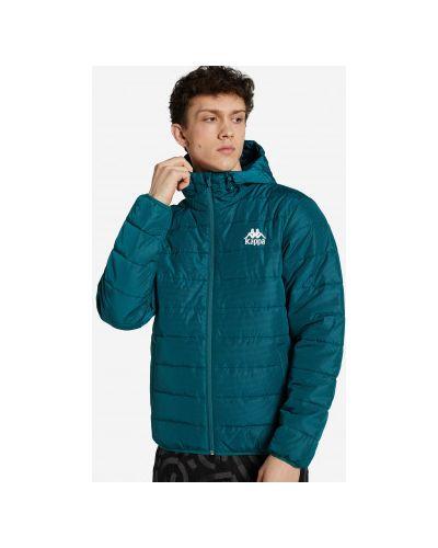 Куртка с капюшоном - зеленая Kappa