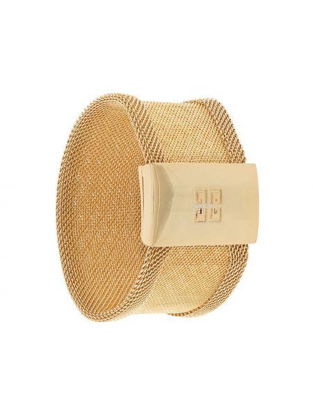Браслет золотой позолоченный металлический Givenchy Pre-owned