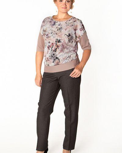 Блузка с люрексом с манжетами Virgi Style