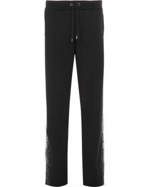 Хлопковые спортивные брюки - черные Paul&shark