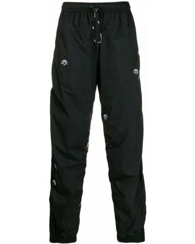 Спортивные брюки черные с манжетами Adidas Originals By Alexander Wang