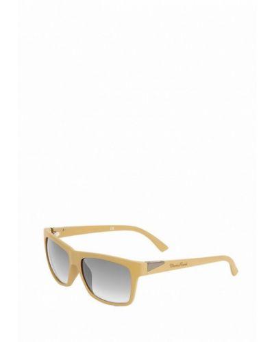 Муслиновые бежевые солнцезащитные очки Mario Rossi