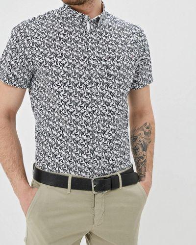 Рубашка с короткими рукавами белый Burton Menswear London