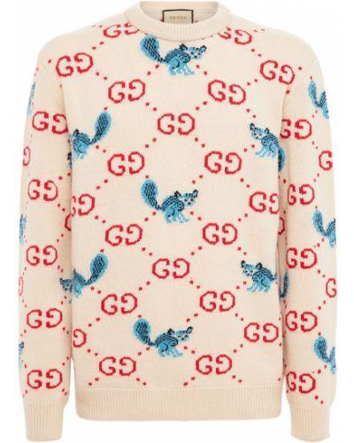 Sweter wełniany Gucci