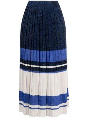 Плиссированная юбка - синяя Twin-set