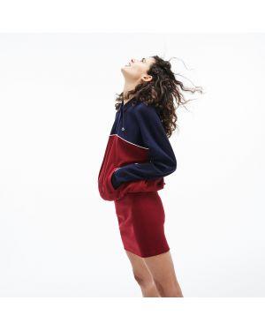Платье в полоску на пуговицах Lacoste