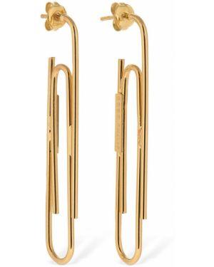 Złote kolczyki sztyfty Gogo Philip Studio