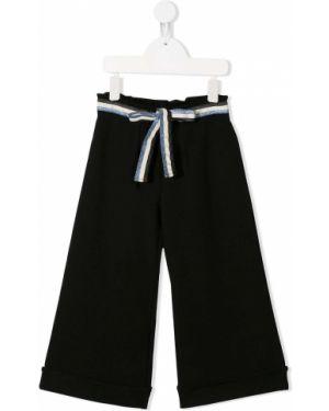 Черные брюки Mariuccia Milano Kids