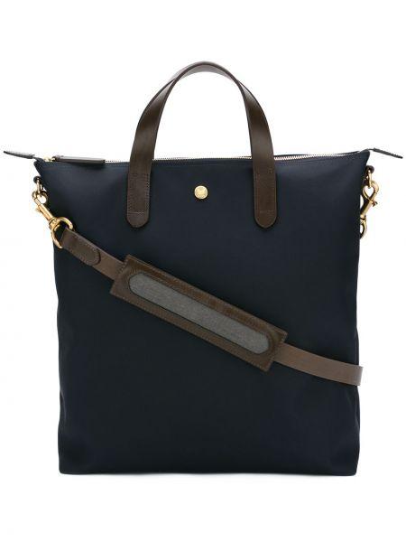 Синяя нейлоновая сумка-тоут Mismo