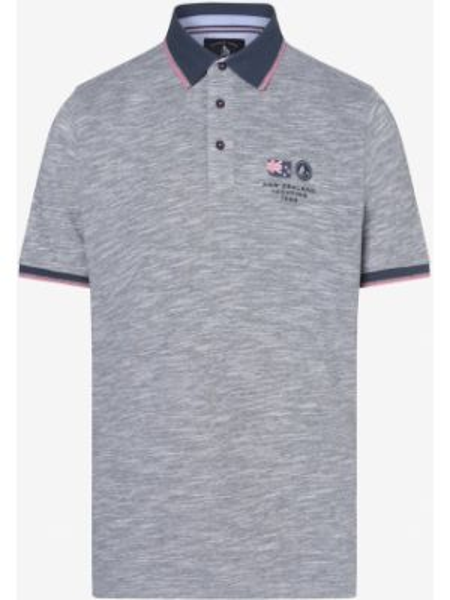 Szary t-shirt Andrew James Sailing