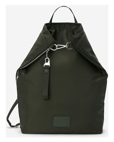 Plecak skórzany - zielony Marc O Polo