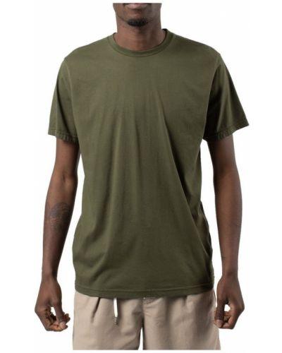 Zielony t-shirt Colorful Standard