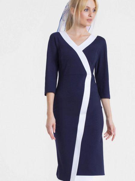 Платье осеннее прямое Lo