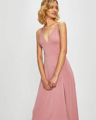 Платье мини однотонное расклешенное Glamorous