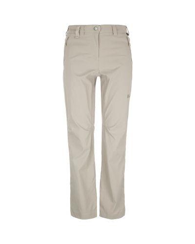 Спортивные брюки кожаные с карманами Jack Wolfskin