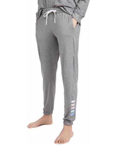 С кулиской текстильные классические брюки на резинке Pj Salvage
