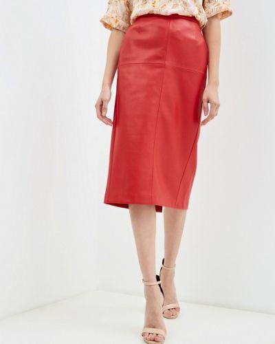 Красная юбка осенняя United Colors Of Benetton