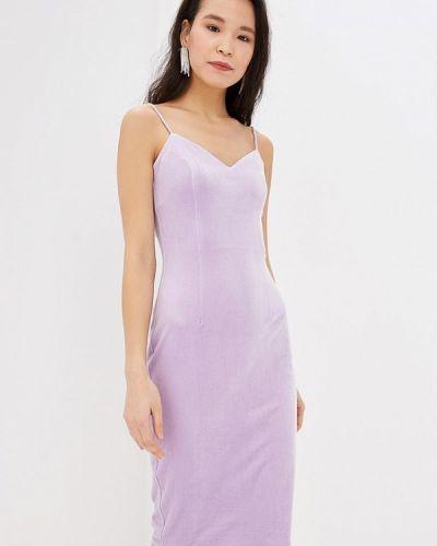 Вечернее платье осеннее фиолетовый Ruxara