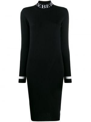 Черное платье миди Iceberg