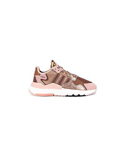 Джоггеры розовый Adidas Originals