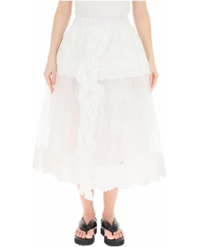 Biała spódnica Simone Rocha