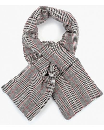 Серый шарф осенний Befree