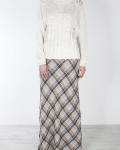 Шерстяной свитер - бежевый A La Russe