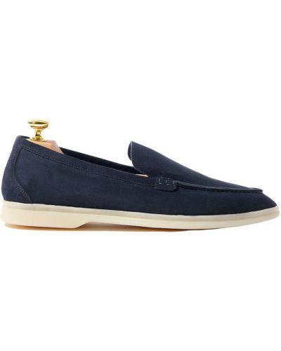 Niebieskie loafers Scarosso