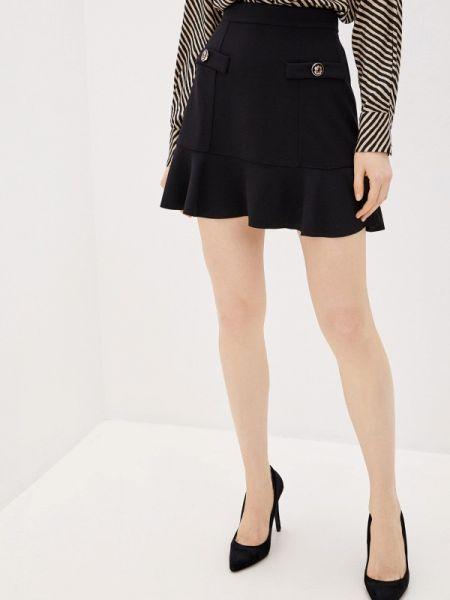 Платье черное широкое Rinascimento