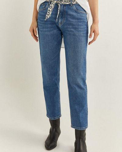 Прямые синие джинсы Springfield