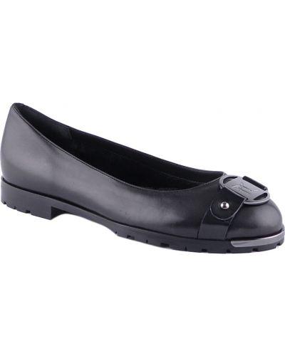 Кожаные туфли - черные Ballin