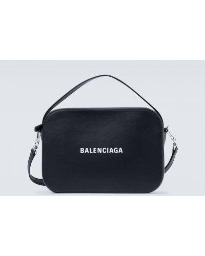 Codziennie biały z paskiem torba na ramieniu z prawdziwej skóry Balenciaga