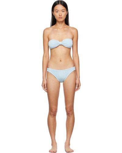 Niebieski bikini Hunza G