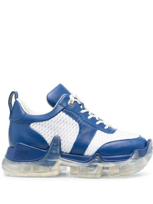 Buty sportowe skorzane - białe Swear