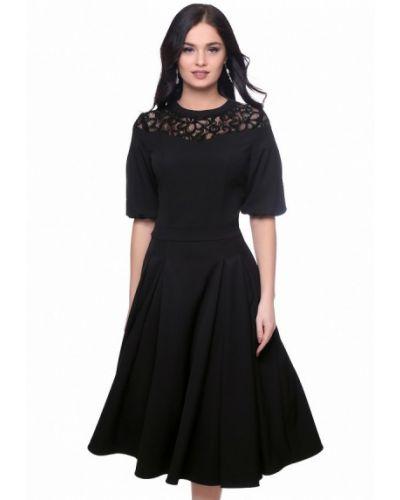Черное коктейльное платье Grey Cat