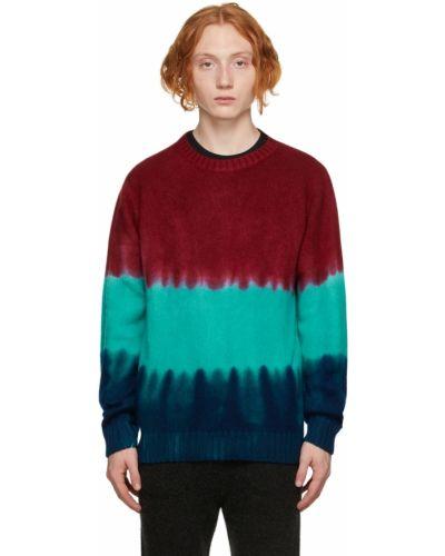 Z kaszmiru sweter - niebieski The Elder Statesman