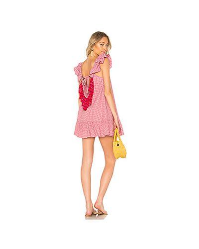 Платье мини платье-сарафан на бретелях Sundress