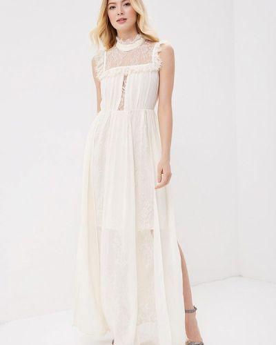 Бежевое платье Danity