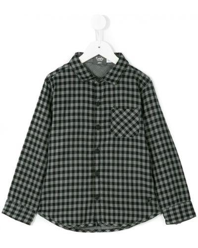 Рубашка в клетку с карманами Tocotò Vintage