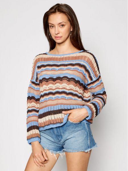 Brązowy sweter Kontatto