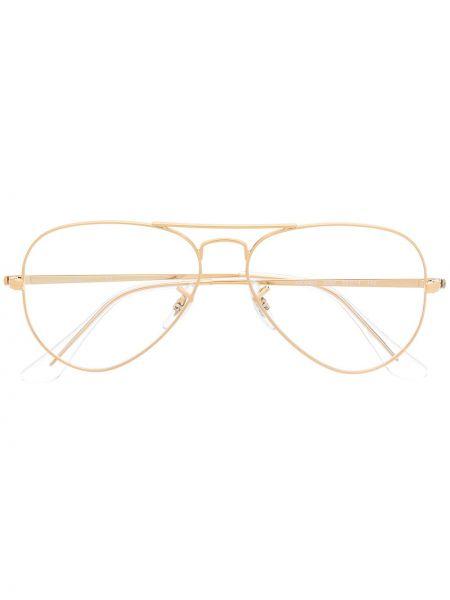 Oprawka do okularów metal złoto Ray-ban