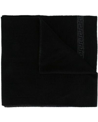 Шарф шелковый шерстяной Versace