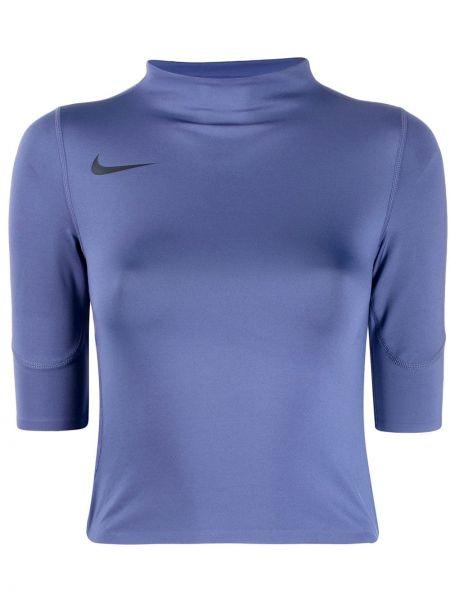 Спортивный топ синий Nike