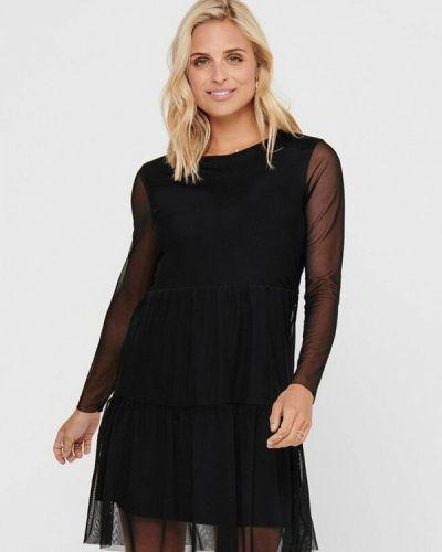 Вечернее черное вечернее платье Jacqueline De Yong
