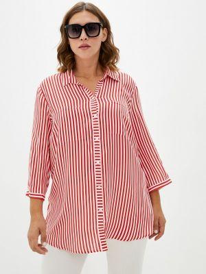 Блузка с короткими рукавами - красная Samoon By Gerry Weber