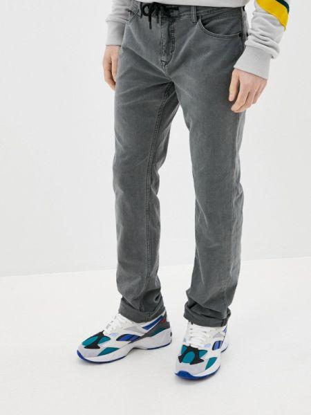 Серые прямые джинсы с жемчугом Sublevel