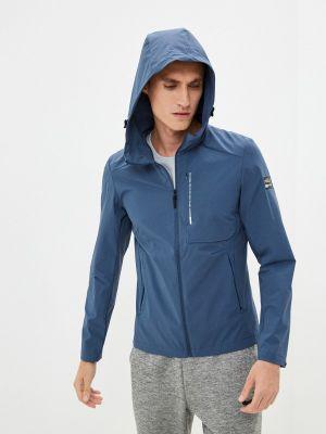 Синяя весенняя куртка Anta