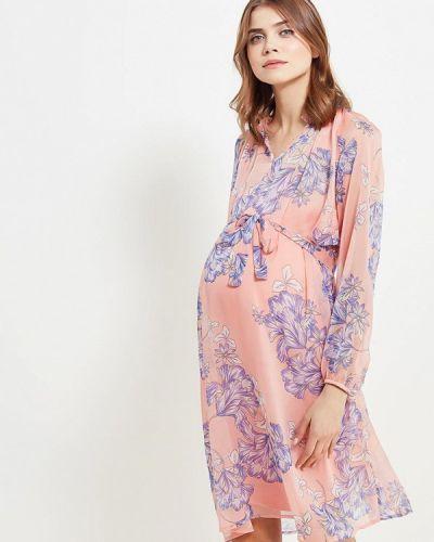 Платье для беременных с длинными рукавами весеннее Mama.licious