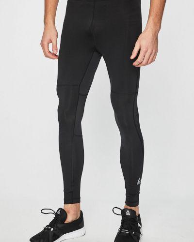 Spodnie na gumce długo czarny Reebok